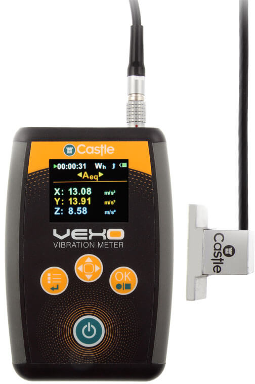 Vexo H Hand-Arm Vibration Meter